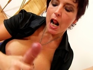 cum on tits free video