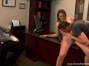 wife gets fucked at swingers party