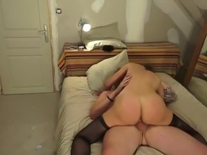 nude cougar sex video