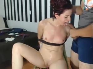 tied orgasm girl