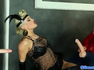 free video of gloryhole wife