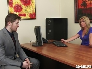 boss teaching babe to fuck videos