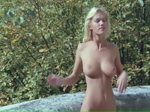 french topless beach video