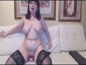 sexy russian young son mom