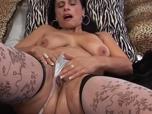mature brunette milf big boobs 323