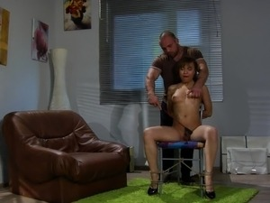 porn slave forced to orgasm
