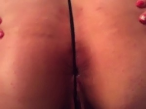 husband films wife creampie pussy