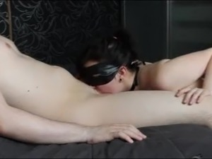 blindfolded wife surprise dick fuck