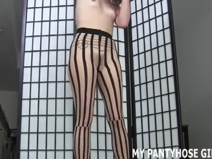 Sexy ass in pantyhose