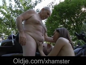 old man and young women porn