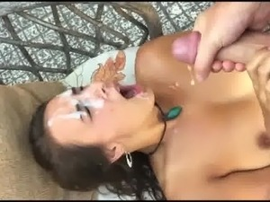 facial party sex