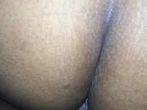 dumb ebony tries anal