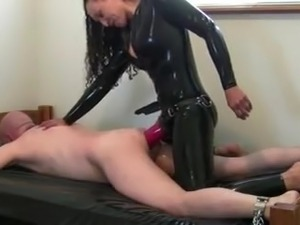 free latex forced orgasm video
