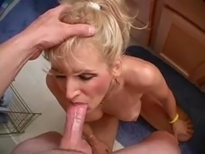Wife swallowing cum