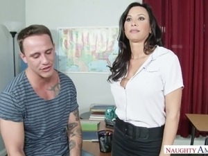 Hot teacher sex scene