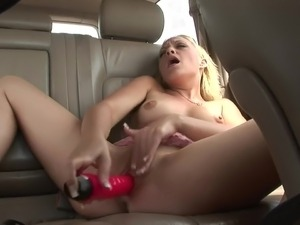 naked girl with car