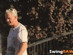 swingers wives videoed by partner