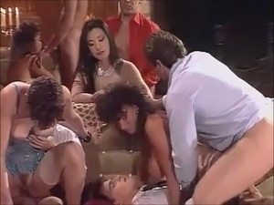 huge group sex parties