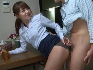 girl in clothes having sex