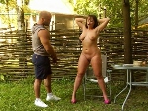 humiliated naked in public video