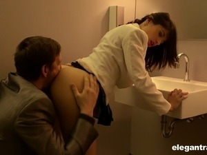 forced toilet bowl oral sex