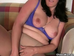 busty british housewife anal