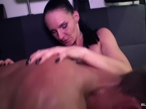 BumsBus - Tattooed German MILF gets fucked in the bus