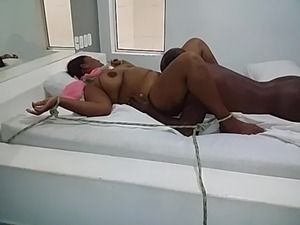 girl tied up orgasm