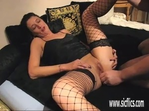 brutally tortured her pussy