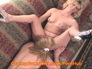 Grannies huge boobs