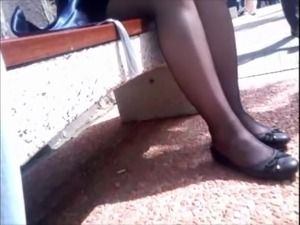 Teen pantyhose video