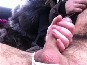 sex handjobs in car