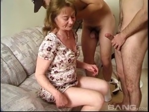 young hairy men and mature women