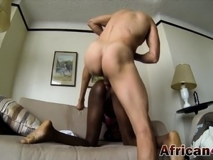 South african interracial porn