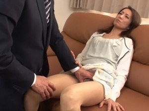 japanese wife cums on video