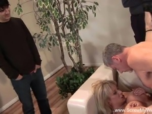 exhibitionist wife video