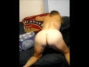 Mature Wife getting ready to get fucked from behind!