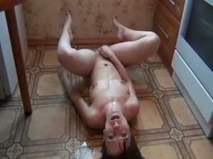 Russian amateur girl