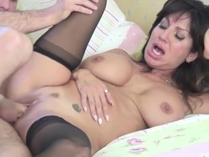 Mature busty moms and grannies fuck young meat