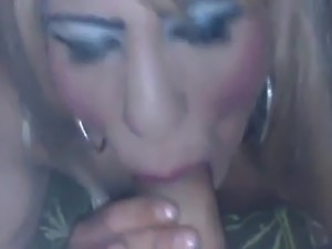 His cum in my mouth