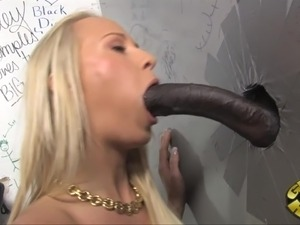 Interracial glory holes