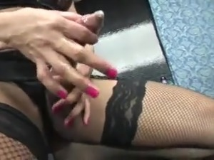 asian ladyboy cumshots video