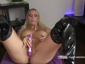 myprivatedream - The Squirting Shower - dildo play