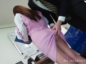 veronica asian office sex