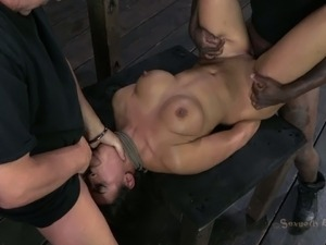 wife fucked black guy