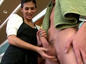 hardcore sex with maid