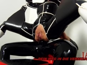 latex orgasm gallery videos