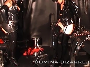 latex ass pussy