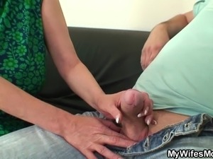 taboo mature sex mom boy