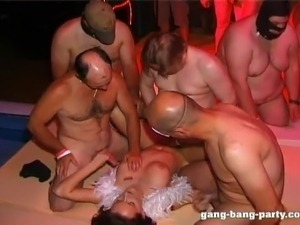 swingers club wife